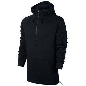 Nike tech fleece hz hoody f010 Kapucnis melegítő felsők - Černá