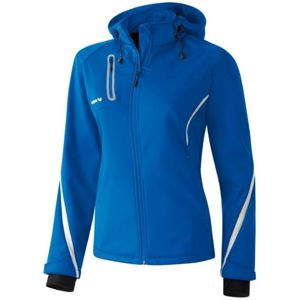 Erima Softshell Active Wear JKT W Kapucnis kabát - Kék - 46