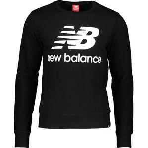 New Balance M NB Essentials Sweatshirt Melegítő felsők - Fekete - XL
