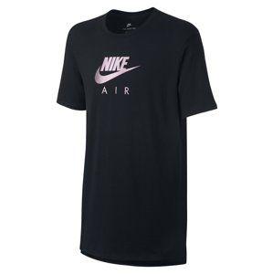 Nike M NSW TEE AIR HRTGE VIRUS INK Rövid ujjú póló - Černá