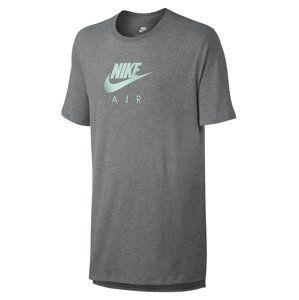 Nike M NSW TEE AIR HRTGE VIRUS INK Rövid ujjú póló - szürke