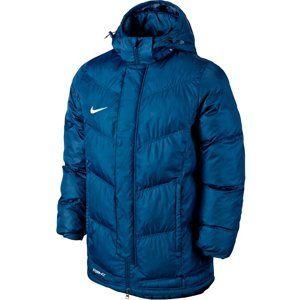Nike YTH'S TEAM WINTER JACKET Kapucnis kabát - kék