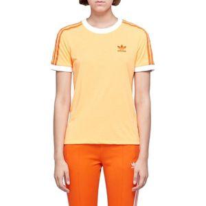 adidas 3-Stripes Tee Rövid ujjú póló - Narancs - 36