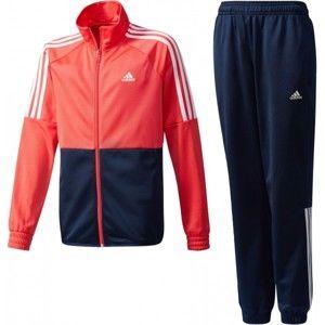 adidas KIDS PES TS W piros 116 - Lány melegítő szett