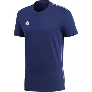 adidas CORE18 TEE kék S - Férfi póló