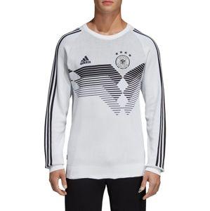 adidas DFB HOME SWEATSHIRT KNIT 2018 Melegítő felsők - Fehér - S