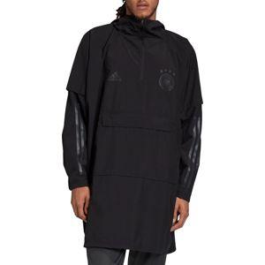 adidas DFB PONCHO Kapucnis kabát - Fekete - XL