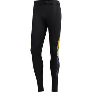 adidas MOTO ASK LT TIG fekete XL - Férfi legging sportoláshoz