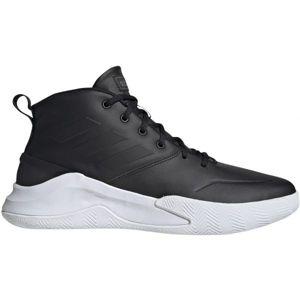 adidas OWNTHEGAME fekete 11 - Férfi kosárlabda cipő