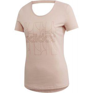 adidas MOTION T-SHIRT rózsaszín S - Női póló