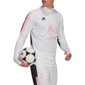 adidas JUVE HU TR TOP Hosszú ujjú póló - Fehér - XL