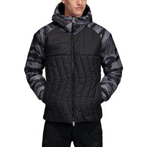 adidas TAN PAD JKT G Kapucnis kabát - Fekete - XL