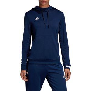 adidas TEAM19 Hoody Women Kapucnis melegítő felsők - Kék - XS
