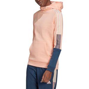 adidas TIRO HOOD CU W Kapucnis melegítő felsők - Rózsaszín - M
