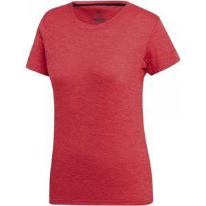adidas W TIVID TEE rózsaszín 34 - Női póló