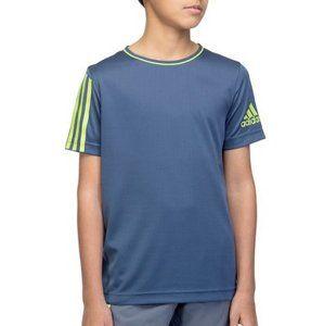 adidas YB G T TEE Rövid ujjú póló - Modrá