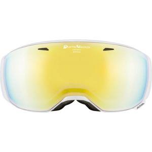 Alpina Sports ESTETICA QVM fehér NS - Uniszex síszemüveg