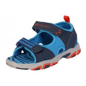 ALPINE PRO CLAINO kék 31 - Gyerek nyári cipő