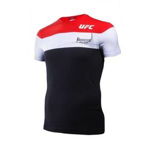 Boxeur des Rues T-SHIRT UFC piros S - Férfi póló