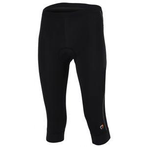 Briko SCINTILLA LADY fekete XL - 3/4-es kerékpáros nadrág