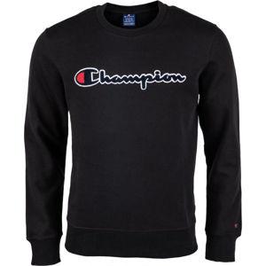 Champion CREWNECK SWEATSHIRT fekete M - Férfi pulóver