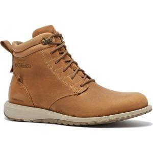 Columbia GRIXSEN BOOT WP barna 12 - Férfi utcai cipő