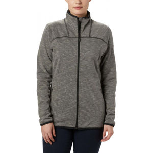 Columbia FIRWOOD CAMP STRIPED FLEECE FZ fekete XS - Női pulóver