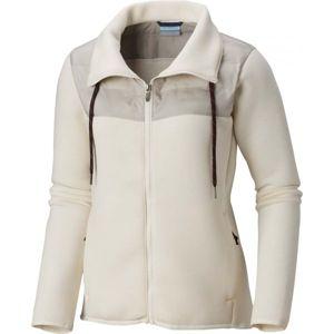 Columbia NORTHERN COMFORT HYBRID JACKET bézs XL - Női vízálló kabát