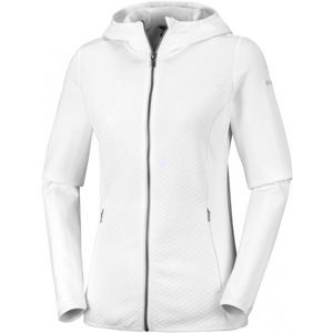Columbia ROFFE RIDGE FULL ZIP HOODED fehér M - Női kabát