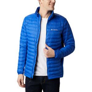 Columbia POWDER PASS JACKET kék S - Férfi kabát