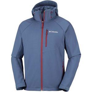 Columbia CASCADE RIDGE II SOFTSHELL kék M - Férfi softshell kabát