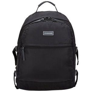 Consigned VOYAGE fekete  - Stílusos hátizsák