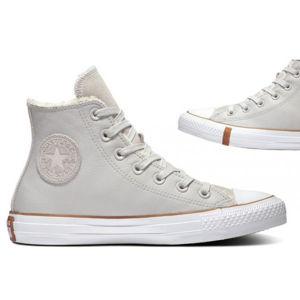 Converse CHUCK TAYLOR ALL STAR FAUX SHEARLING szürke 39.5 - Női téli tornacipő