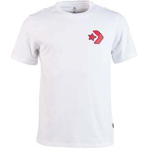 Converse CARTOON CHUCK TEE fehér M - Férfi póló