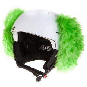 Crazy Ears ZÖLD KUTYA zöld  - Sisakra ragasztható fül