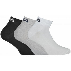Fila QUARTER PLAIN SOCKS 3P  39/42 - Zokni