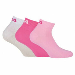 Fila QUARTER PLAIN SOCKS 3P  35 - 38 - Zokni