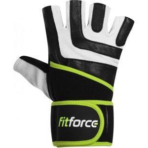 Fitforce DIRECT fehér XS - Fitness kesztyű