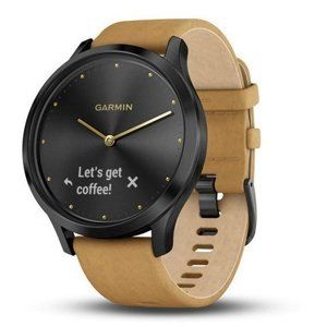 Garmin Garmin vivomove Optic Premium Black Karórák - barna