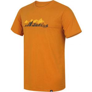 Hannah BITE sárga S - Férfi funkcionális póló