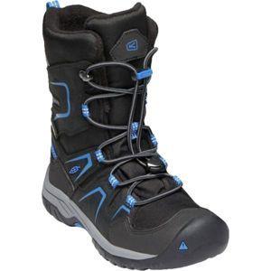 Keen LEVO WINTER WP Y fekete 5 - Gyerek téli cipő