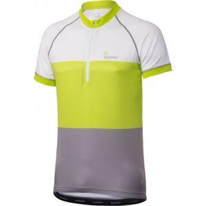 Klimatex AVNER fehér XL - Férfi kerékpáros mez