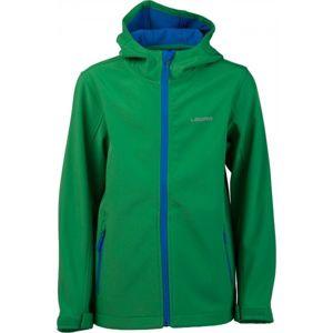 Lewro OFRA zöld 140-146 - Gyerek softshell kabát