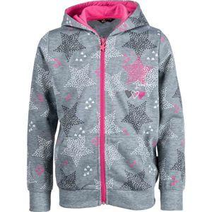 Lewro NAT rózsaszín 116-122 - Gyerek pulóver