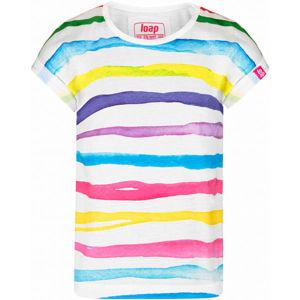 Loap AJSI fehér 134-140 - Lány póló
