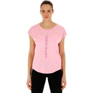 Lotto DINAMICO W III TEE PRT2 VI rózsaszín XS - Női póló
