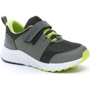Lotto BREEZE ULTRA II CL SL szürke 31 - Junior cipő