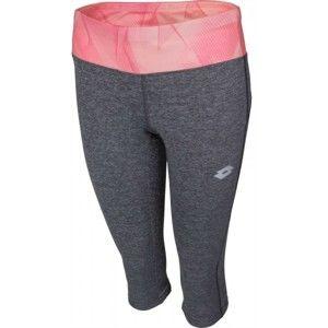 Lotto X RIDE III LEGGINS MID BS W rózsaszín XS - Női háromnegyedes legging