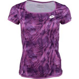 Lotto TOP TEN TEE PRT PL rózsaszín XL - Női póló