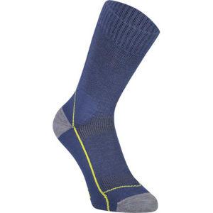 MONS ROYALE MTB 9 TECH sötétkék M - Női kerékpáros zokni Merino gyapjúból